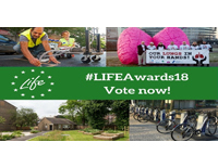 Vote for your favourite LIFE green city project!