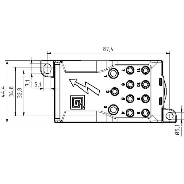 enclosed fuse block