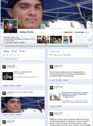 Como obtener el nuevo perfil y diseño de facebook nuevo facebook eulises avila