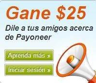 ganaconpayoneer payoneer Payoneer, Tarjeta Internacional Gratis con Cuenta en Estados Unidos ganaconpayoneer