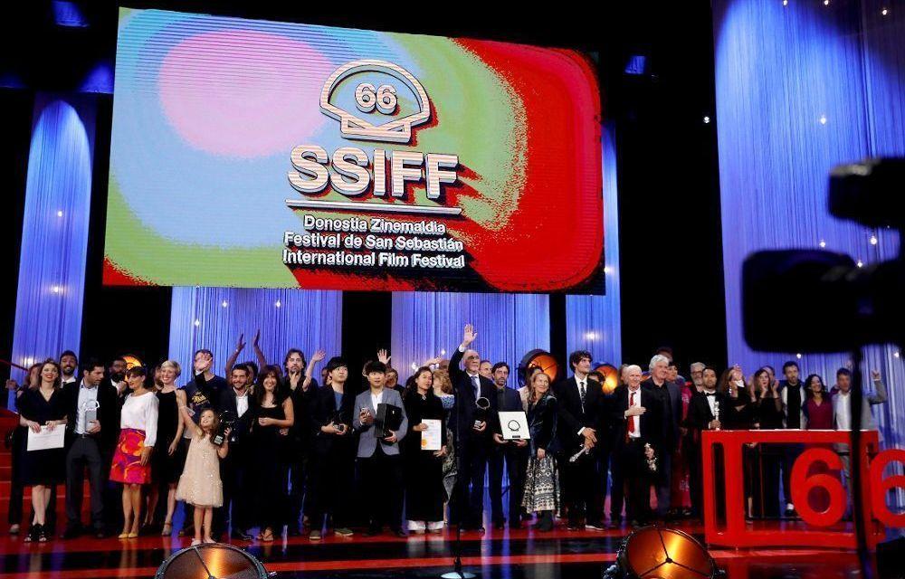 Palmarés de la 66 edición del Festival de San Sebastián
