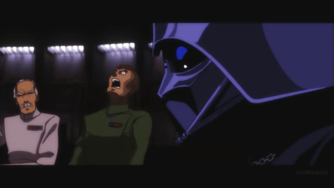 ¿Y si Star Wars fuera un animé?
