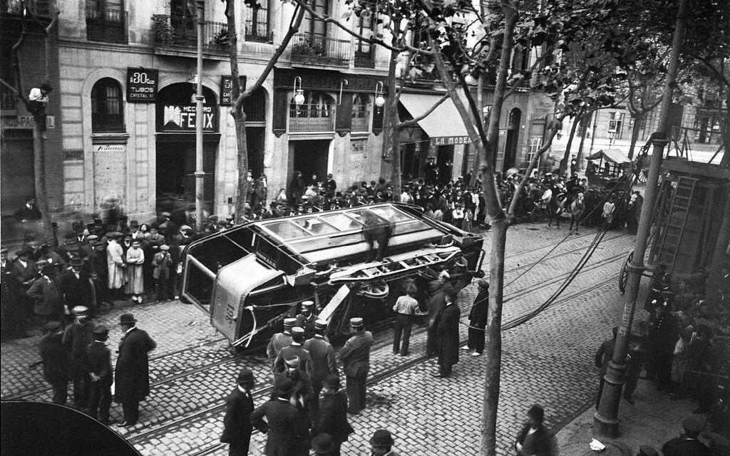 Foto del día: Recordamos la Setmana Tràgica en Barcelona