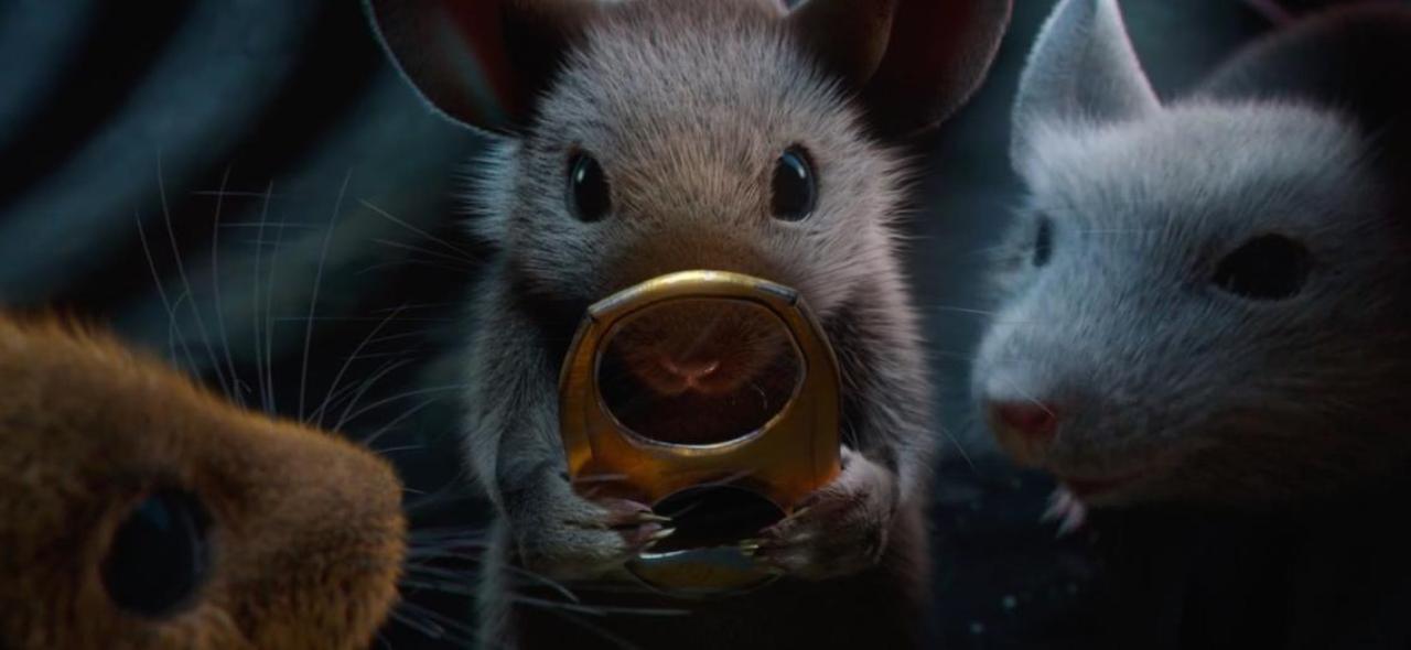 El ratón de los anillos