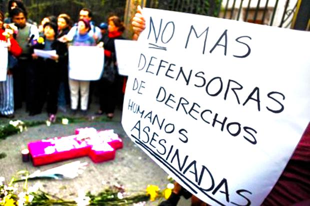 """Defensores de derechos humanos: """"los siguen matando porque se puede"""""""
