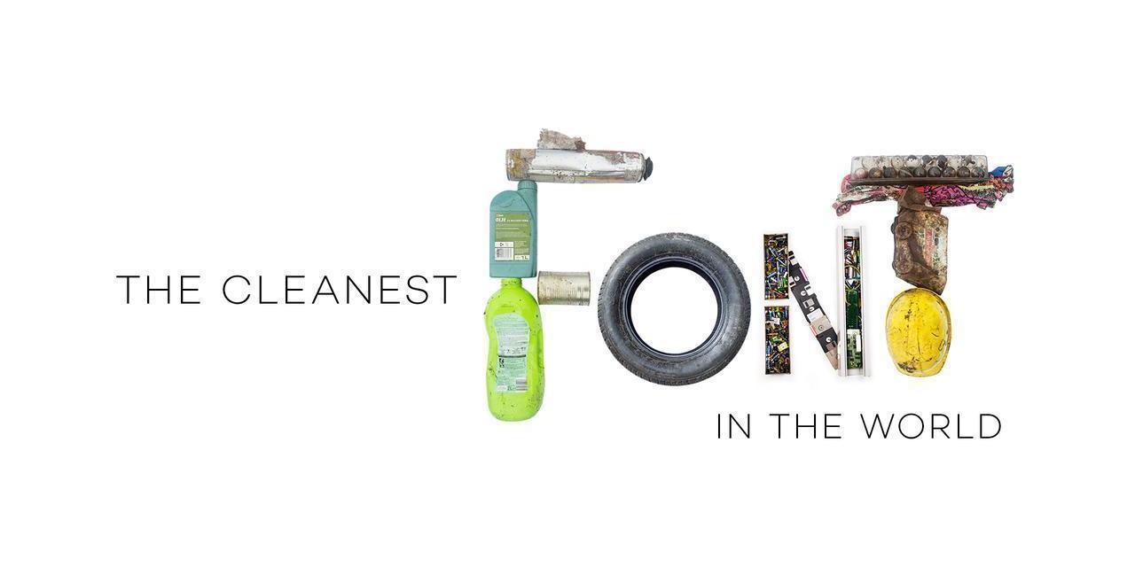 La tipografía más limpia del planeta