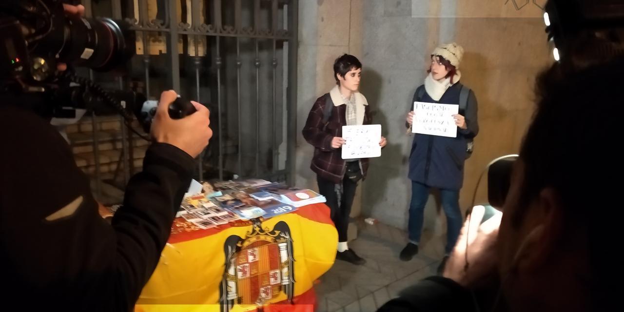 20N: Miedo y asco en una iglesia de Madrid