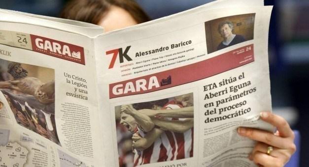 GARA denuncia el expolio y el ataque a la libertad de prensa