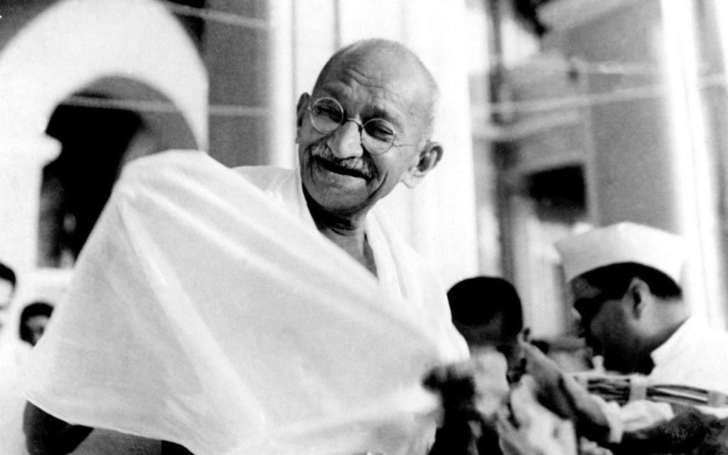 Las mil caras de Gandhi blanqueadas por occidente