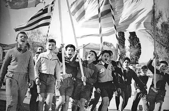 Foto del día: 60 aniversario de la independencia de Chipre