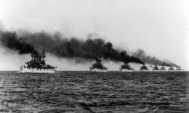 Foto del día: 110 años del viaje alrededor del mundo hecho por la Gran Flota Blanca