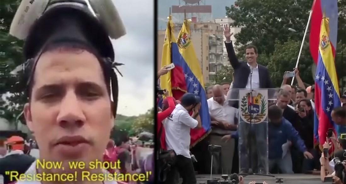 Juan Guaidó, la criatura de los EE.UU.