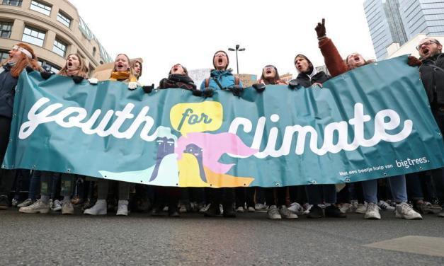 #YouthForClimate, el movimiento juvenil ecologista llega a España