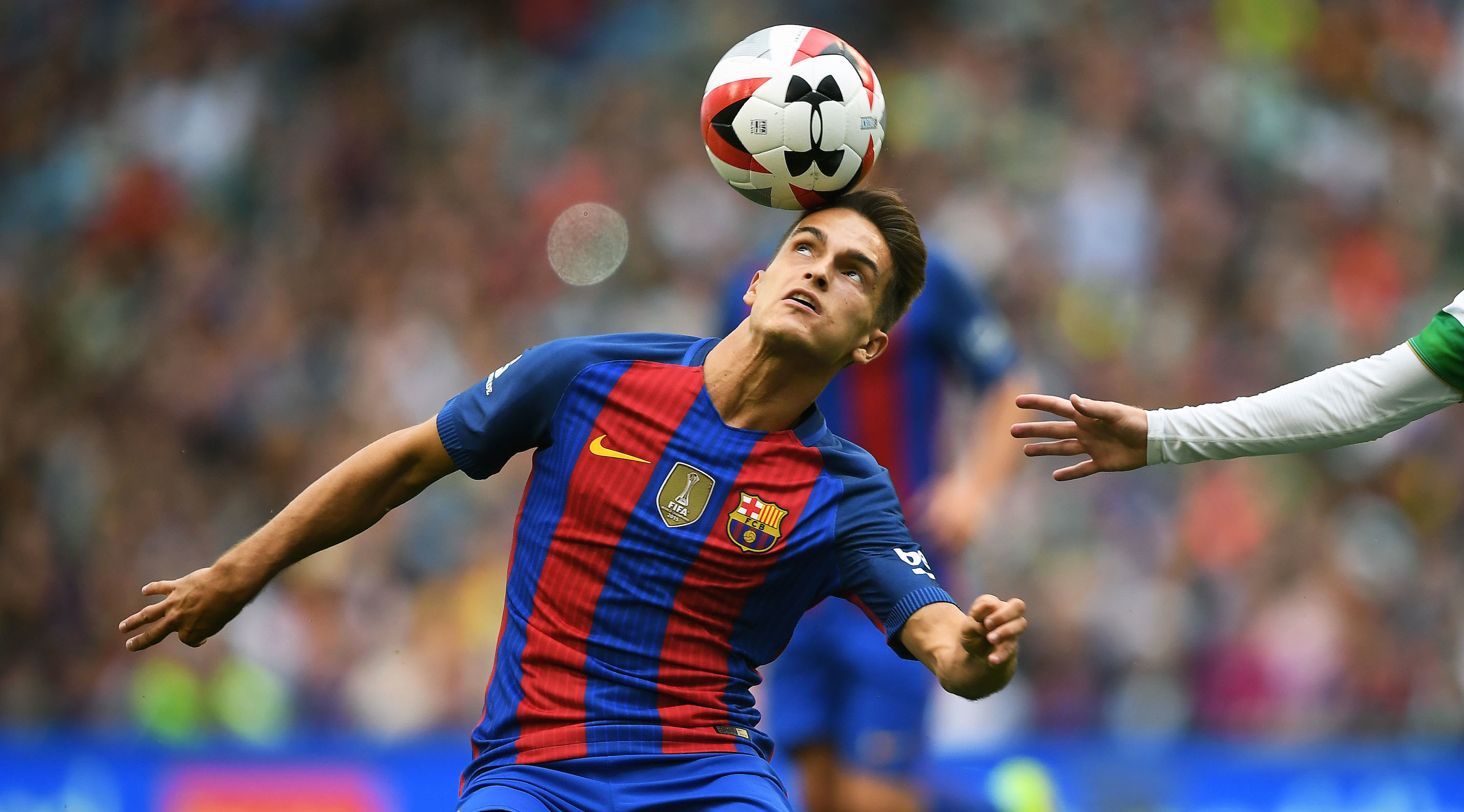 DUBLIN, IRELAND - JULY 30: Denis Suarez of Barcelona during the International Champions Cup series match between Barcelona and Celtic at Aviva Stadium on July 30, 2016 in Dublin, Ireland. (Photo by Charles McQuillan/Getty Images)