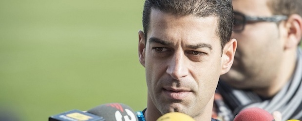 Gerard López, técnico del Barça B.