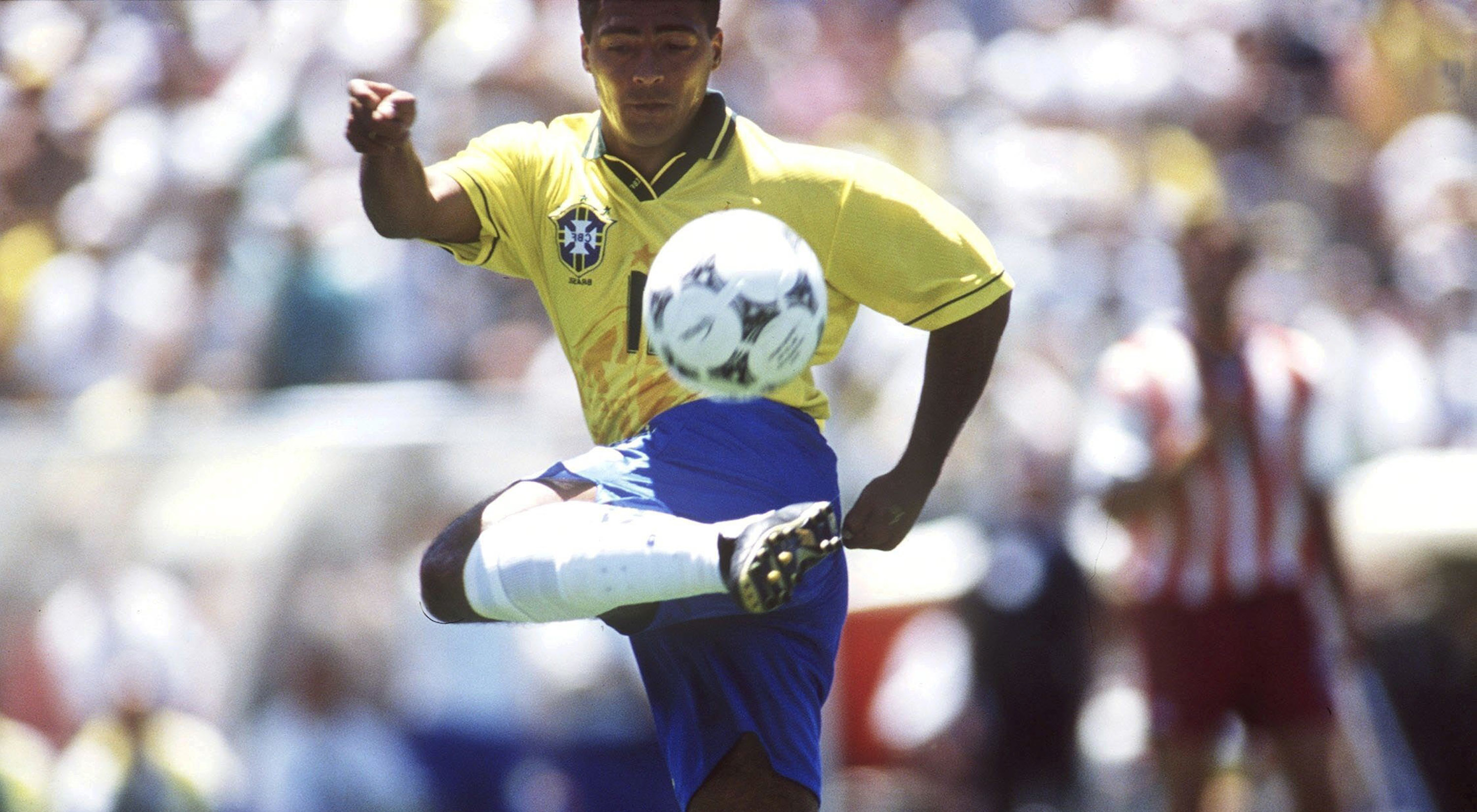DALLAS, UNITED STATES - JULY 04: WM 1994, Dallas; BRASILIEN - USA 1:0 (BRA - USA) 1:0; ROMARIO/BRA (Photo by Michael Kunkel/Bongarts/Getty Images)