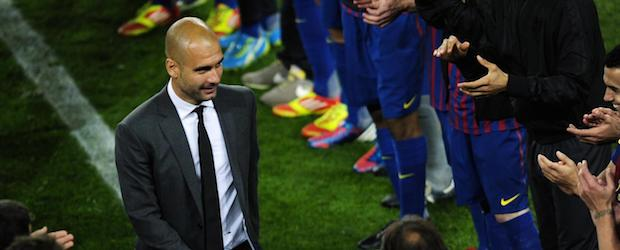 Ultima partita di Guardiola al Camp Nou