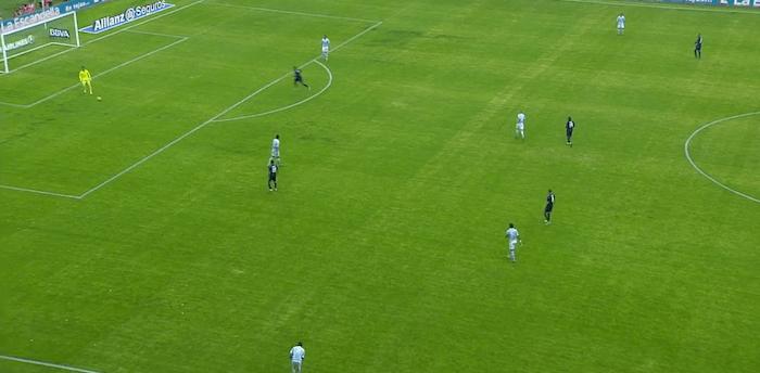 La presión del Madrid de Benítez ante en Celta de Berizzo.