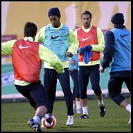 Entrenament FCB
