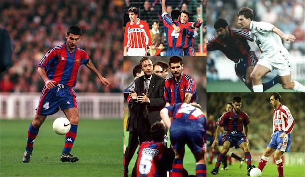 Josep Guardiola, el 4 del Dream Team, visitó el interior derecho en varias ocasiones a lo largo de la temporada, cediendo a Popescu su lugar en el mediocentro, donde el rumano suponía un refuerzo defensivo en la vigilancia de los mediapuntas rivales.