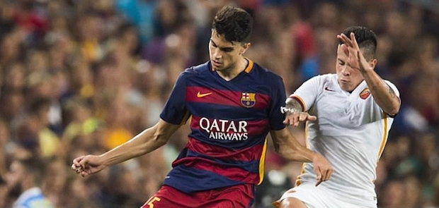 Marc Bartra ante un nuevo reto. La vuelta de Vermaelen amenaza su estatus en la plantilla del Barça.