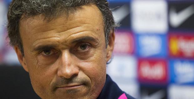 Luis Enrique y la posible sorpresa del Barça contra el Madrid.