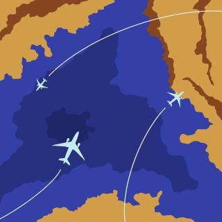 Plane Airplane Map Location Gps  - kirillslov / Pixabay