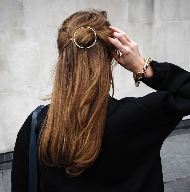 ROUND HAIR CLIP | STYLE COPYCAT