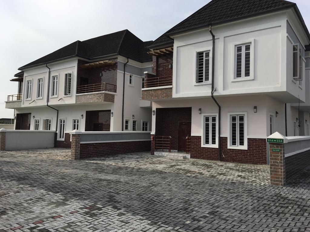 4 Bedroom Semi Detached House For Sale, N45m With Payment Plan