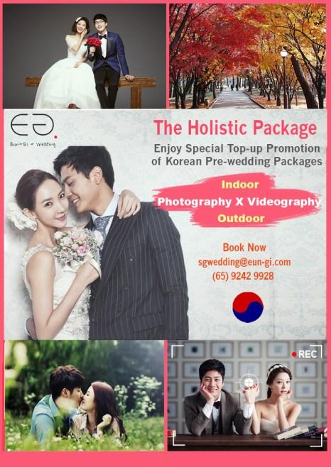Eungi Wedding Singapore-The Holistic Package Promotion