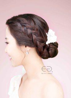 Korean Bridal Make-up & Hairstyle No.9