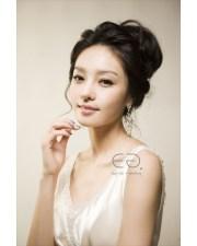 bridesmaid hairstyle korean fade