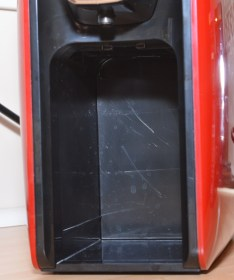 VonShef 1250w Nespresso Compatible Coffee Pod Machine - Drip tray and hopper housing
