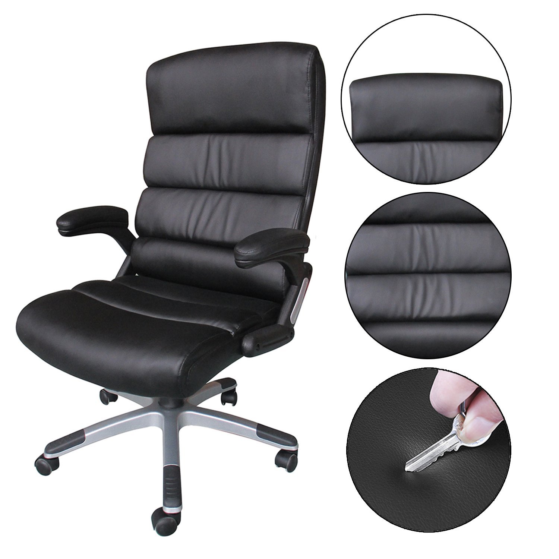 office chair review standard height hompo modern designs ergonomic eunoia reviews executive main