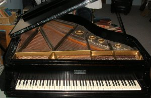 Mason & Hamlin Model A professional grand piano