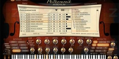 IK Multimedia's MiroSlav Philharmonic is a 16 track soft synthesizer that can be integrated and automated into any DAW. It's sample library and dynamic articulation are impressive.