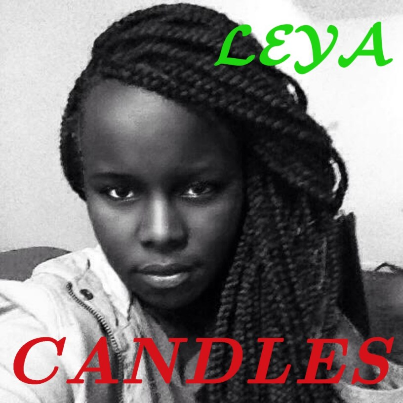 """Artwork for the Euphonic Studio single release """"Candles"""", sung by Leya Neema, choirmaster of the Amen Choir."""