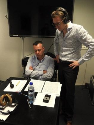 Renato Meli in the recording room