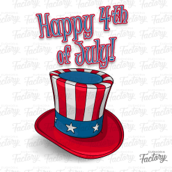 Happy 4th of July Hat!