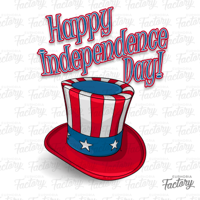 Happy Independence Day Hat