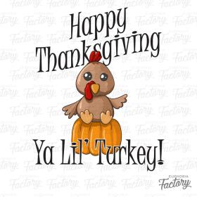 Happy Thanksgiving Ya Lil' Turkey