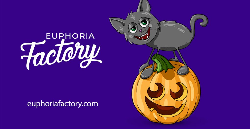 Halloween Cat and Jack-o-Lantern Downloadable Design