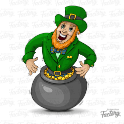 Leprechaun Pot-of-Gold