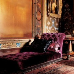 Fainting Sofa Purple Grey Leather Tufted Canada Feng Shui For The Living Room Euphoric Couch In Parlor