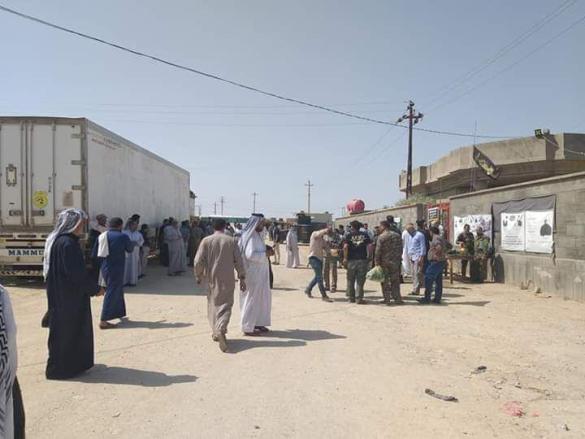 """حافلات تحمل زوار من العراق تحت حملة """"أخوة زينب""""  (صور).."""