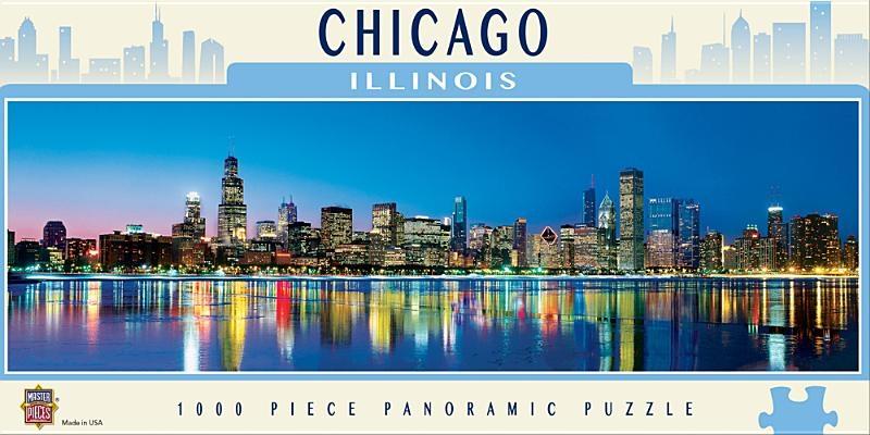 Chicago 1000pc Panoramic