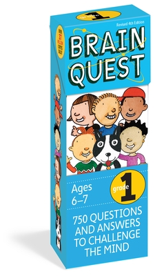 Brain Quest 1st Grade Q&A Cards: 750 Questions and Answers to Challenge the Mind. Curriculum-Based! Teacher-Approved!