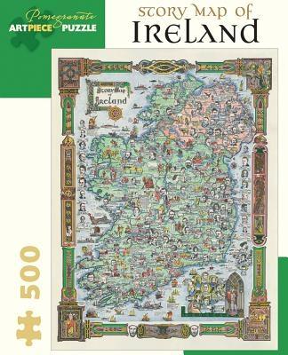 Story Map of Ireland: 500 Piece Jigsaw Puzzle