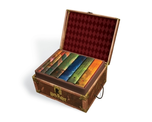Harry Potter Hardcover Boxed Set: Books 1-7 [With Stickers]