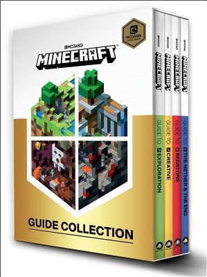 Minecraft: Guide Collection 4-Book Boxed Set: Exploration; Creative; Redstone; The Nether & the End
